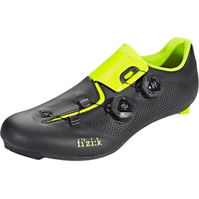 Fizik Aria R3 Zapatillas Racing Bike, black/yellow fluo